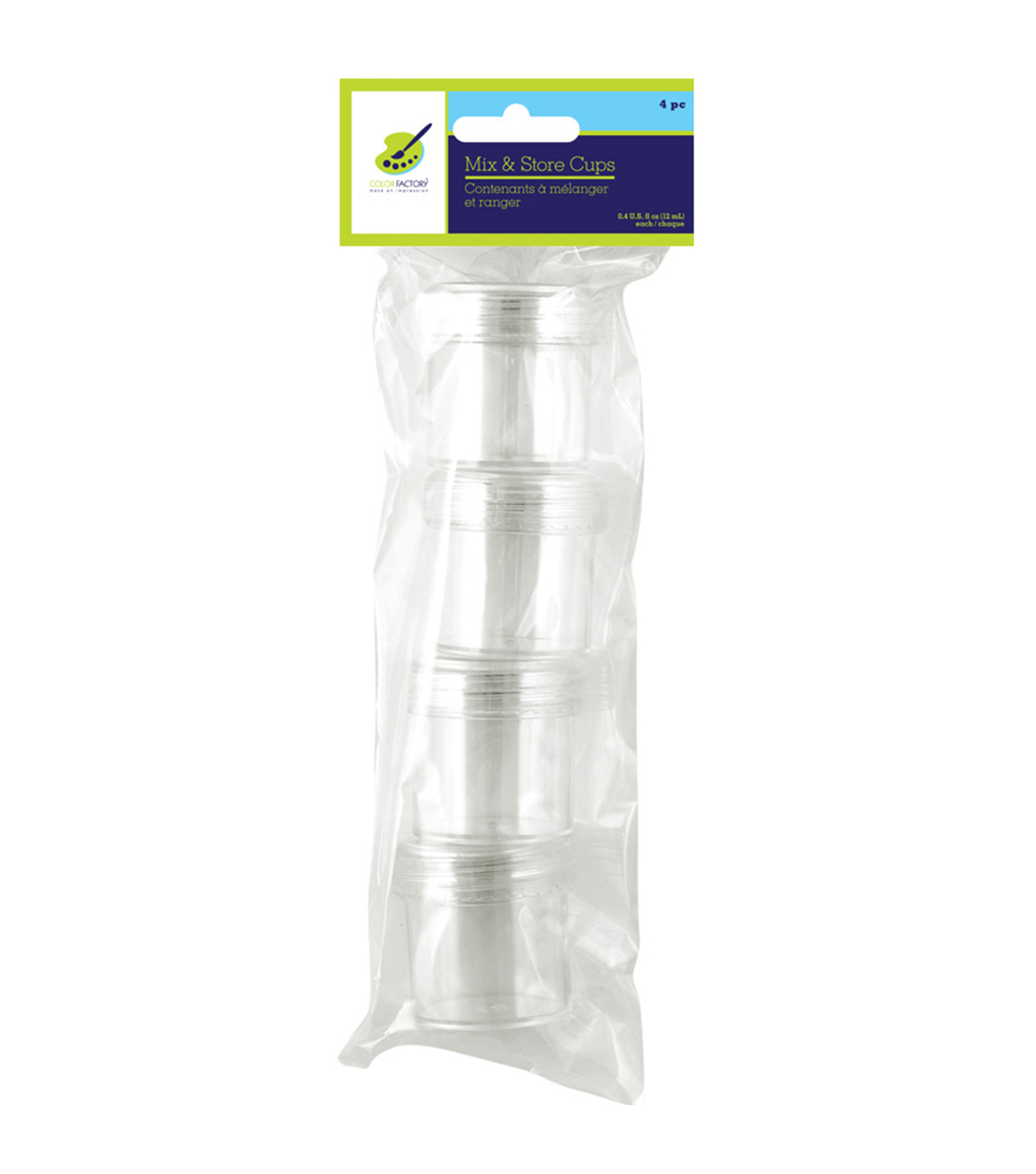 Mix & Store Cups 4/Pkg-.4oz