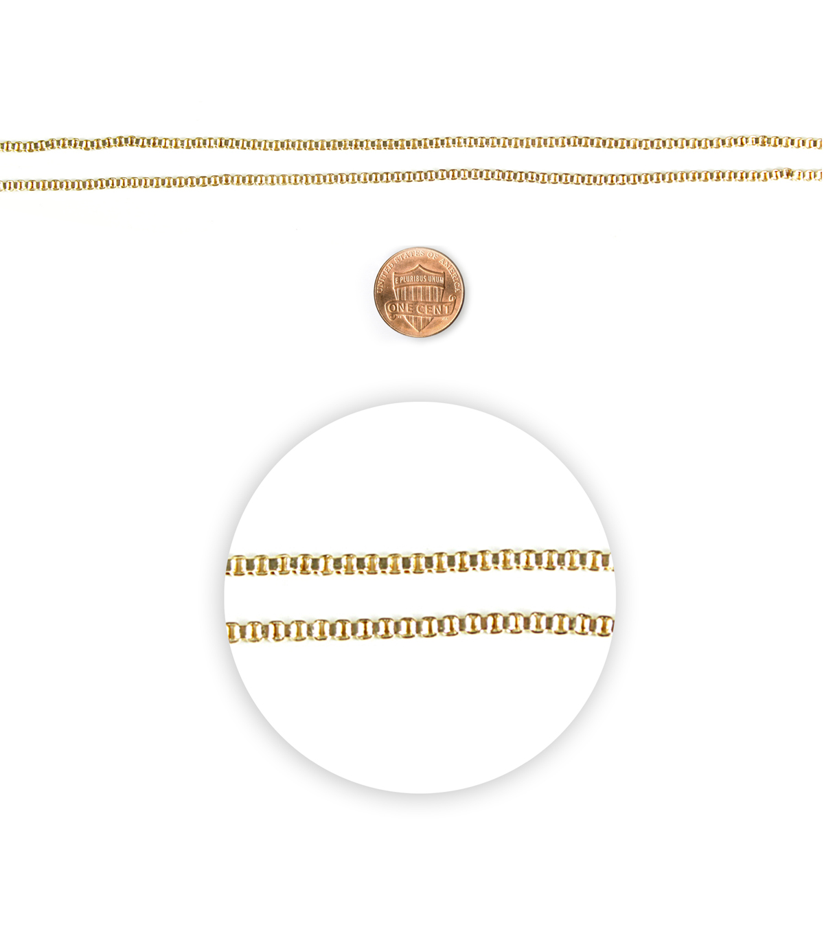 Blue Moon Story Lockets Necklace Gold Box Chain 20\u0022