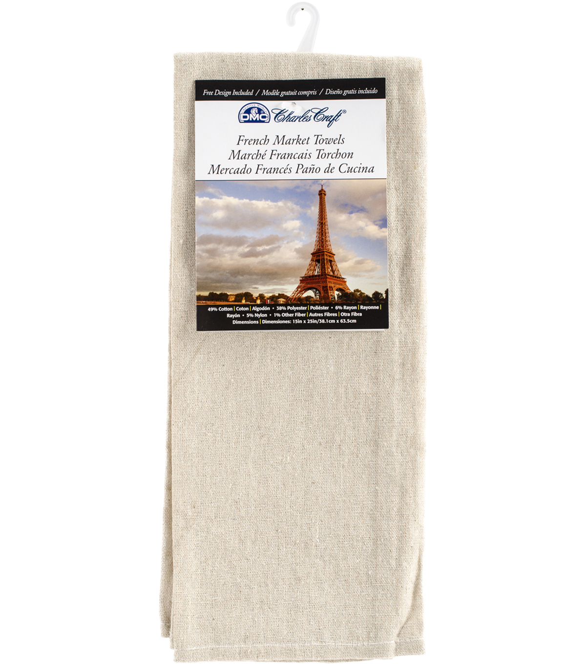 Charles Craft French Market Tea Towel