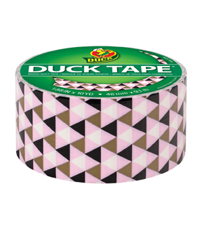 Printed Duck Tape® Duct Tape 1.88 in. x 10 yd.-Metallic Gold Pyramid