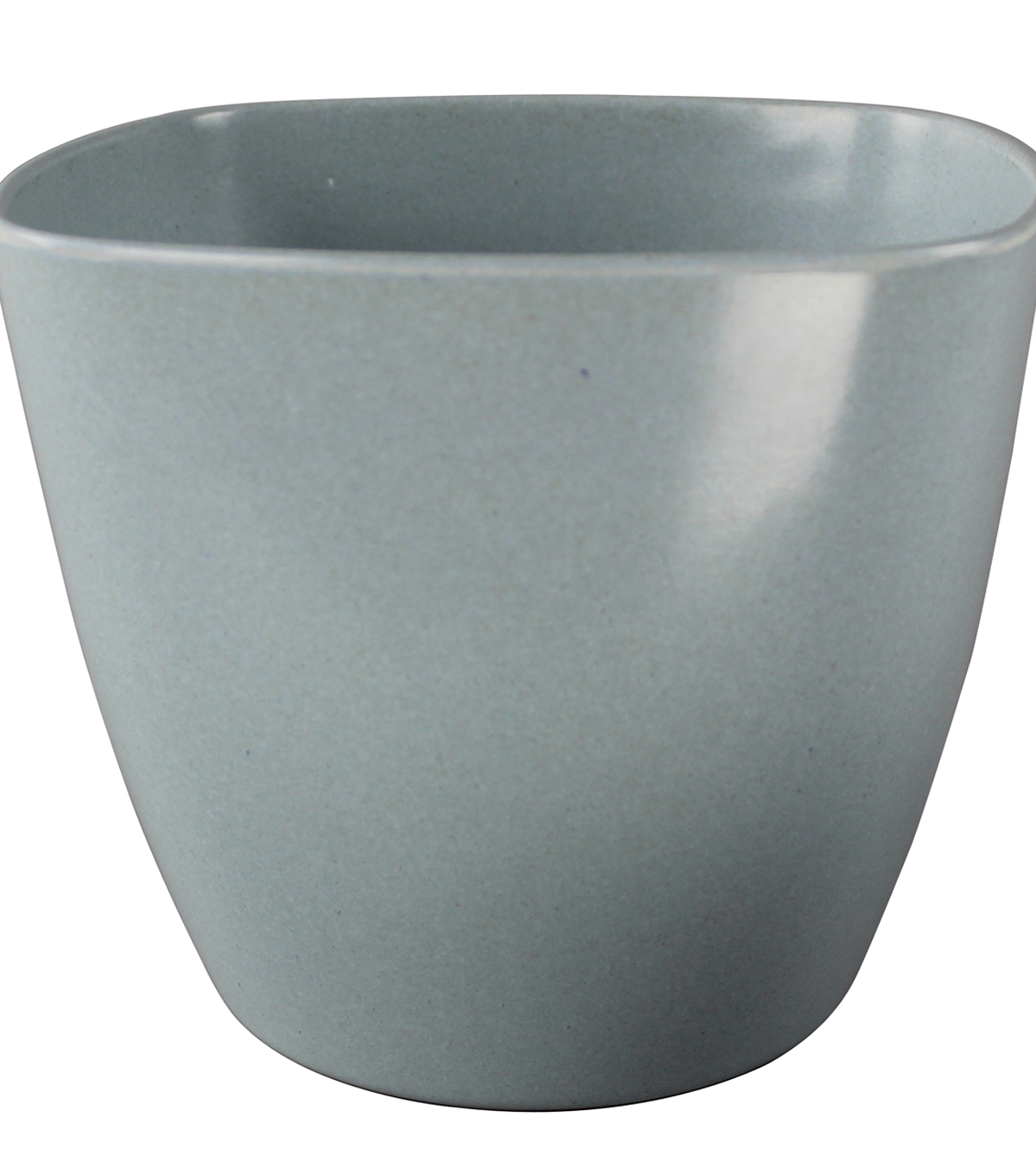 Bloom Room Small Square Eco Pot-Light Blue