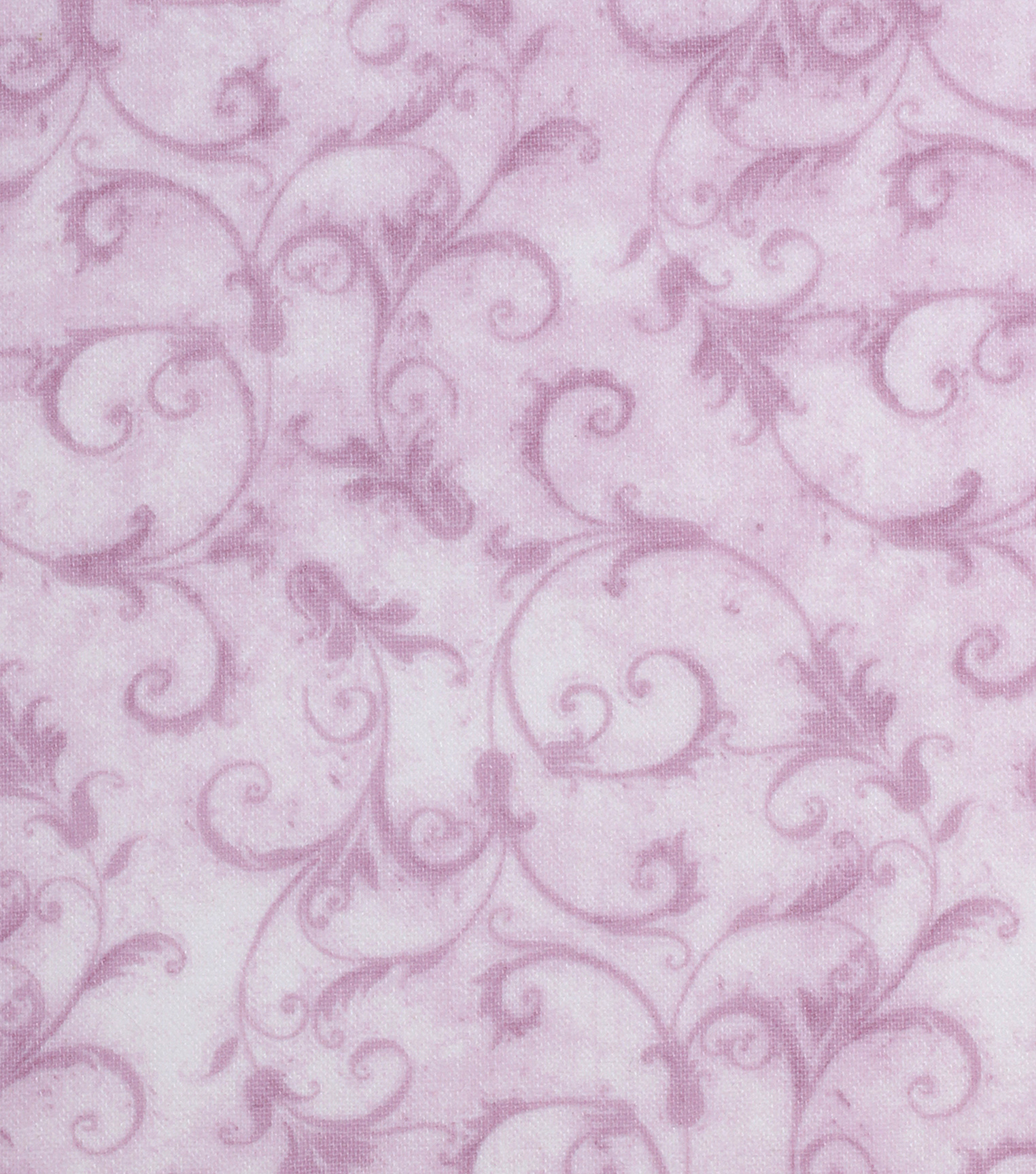 "Keepsake Calico™ Cotton Fabric 43""-Light Pink Feminine Scroll"