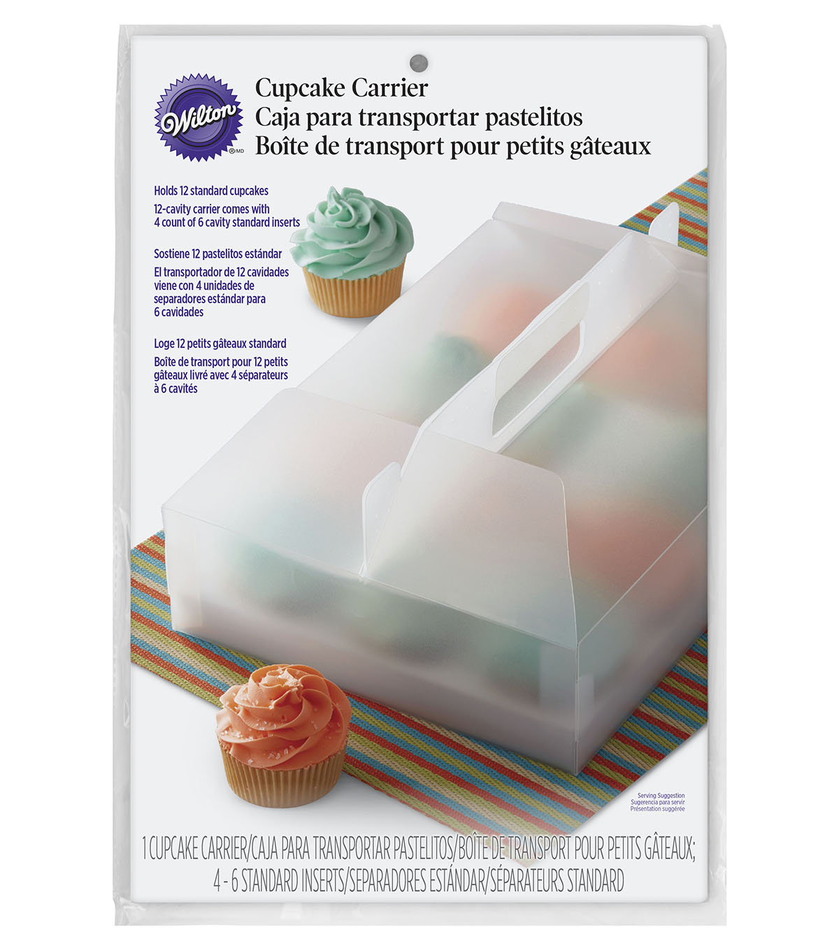 Wilton® Reusable 12ct Cupcake Carrier