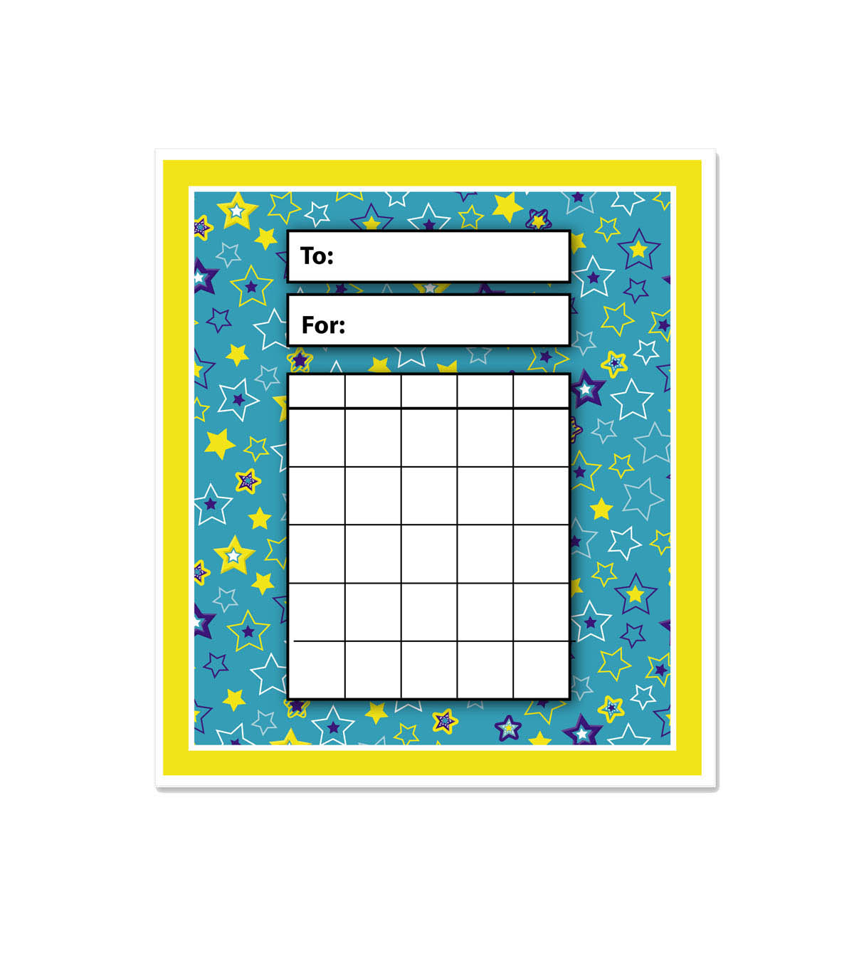 Busy Kids Learning Incentive Pad-Star