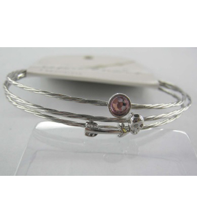 Bangle Expressions Silver Bracelet Assortment 281