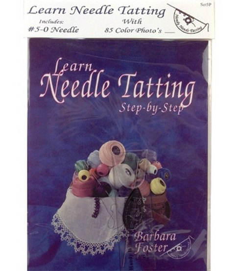 Handy Hands Learn Needle Tatting Step-by-Step Book