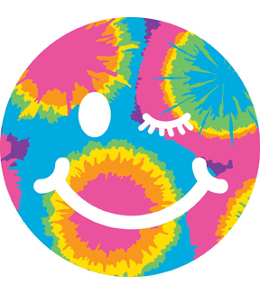 Neonmania Smiley Wink Iron-On Transfer