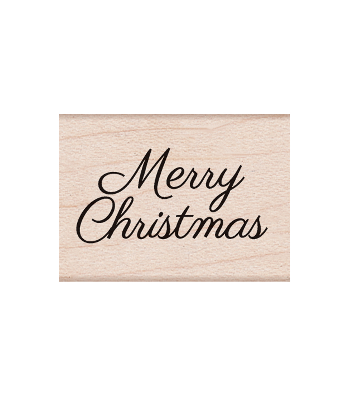 Hero Arts® Wood Mounted Rubber Stamp-Little Merry Christmas