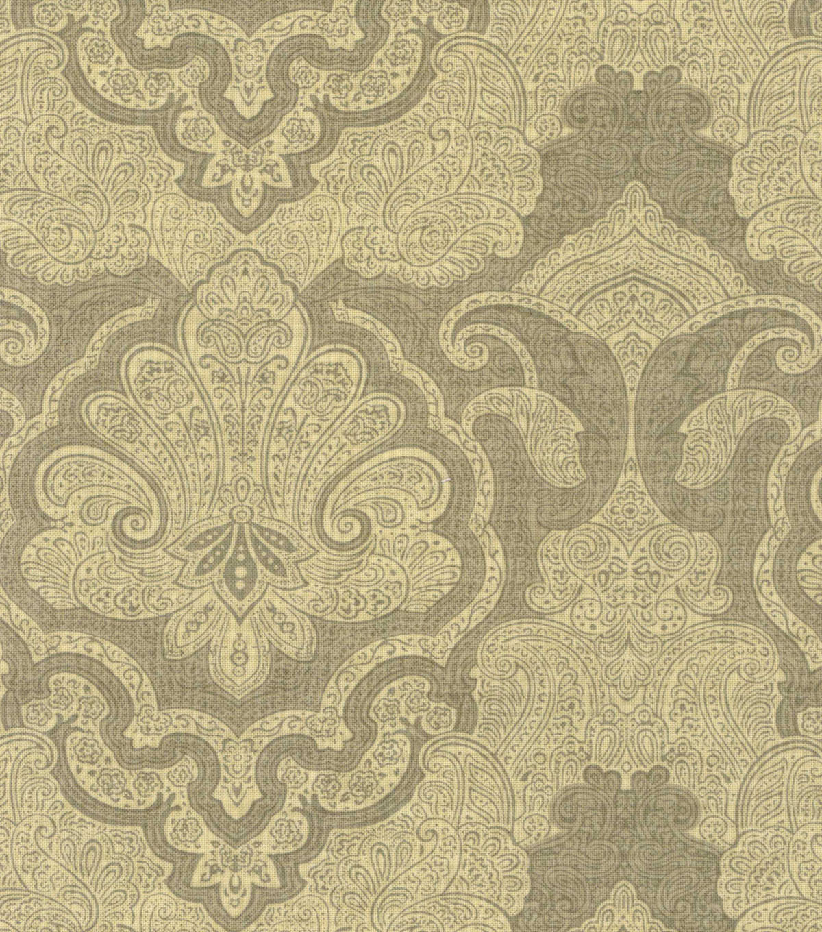 Buttercream™ Cosette Cotton Fabric 43\u0022-Large Damask Green