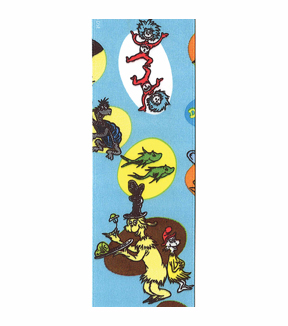 Dr. Seuss Character Toss Ribbon