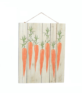 Easter Wood Wall Decor-Carrot