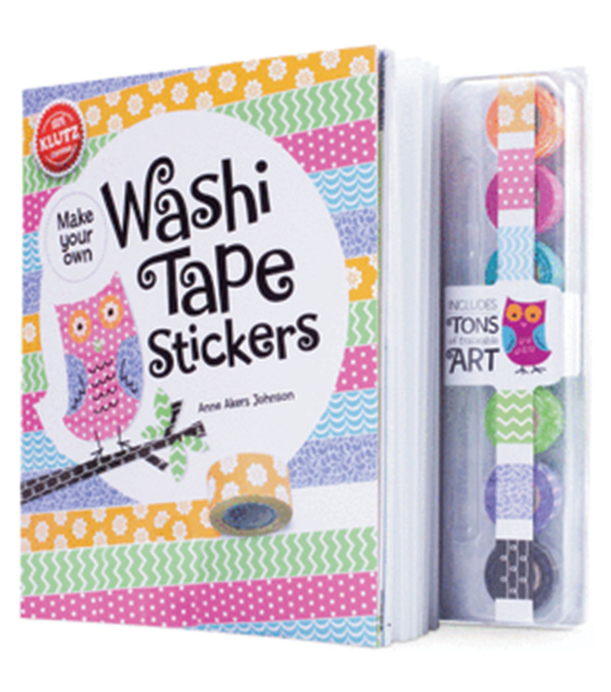 Washi Tape Sticker Book