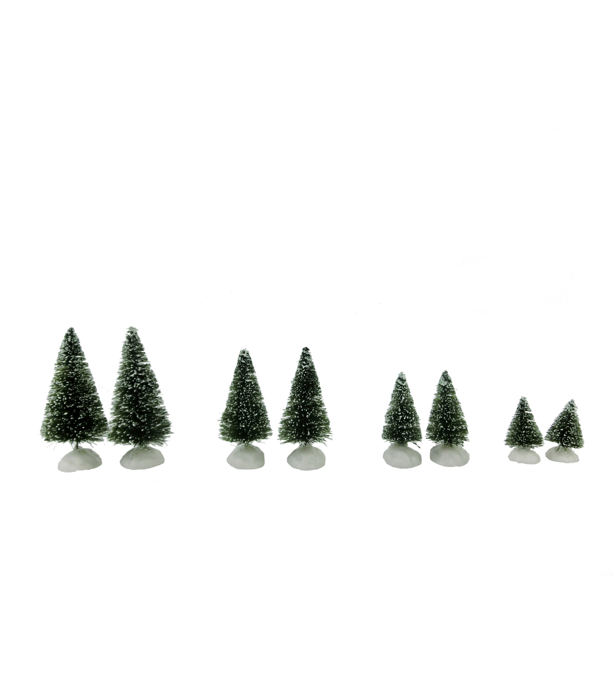 Maker\u0027s Holiday Christmas 8 Pack Mini Blue Spruce Trees