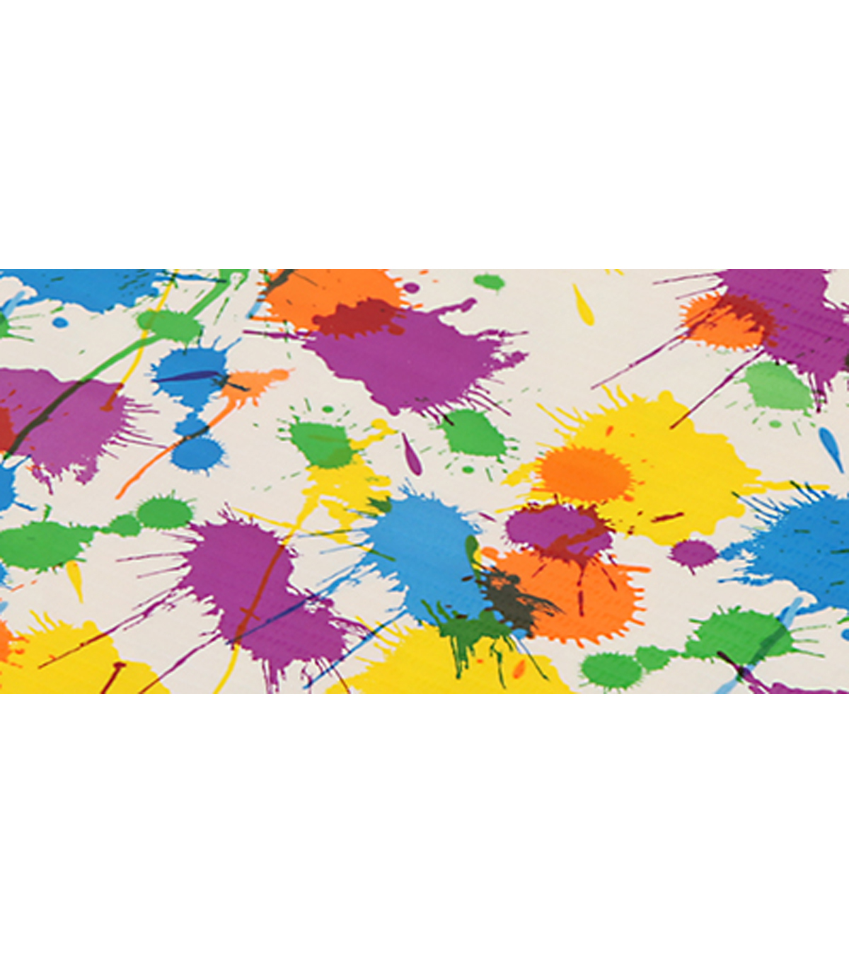 Duck Tape-Paint Splatter Sheet