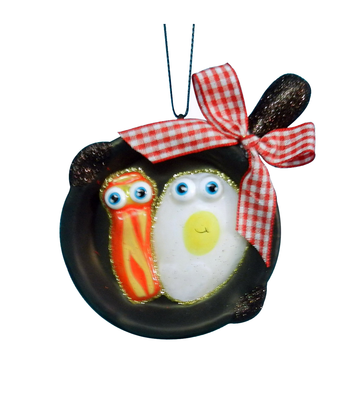Maker\u0027s Holiday Bacon & Eggs Ornament