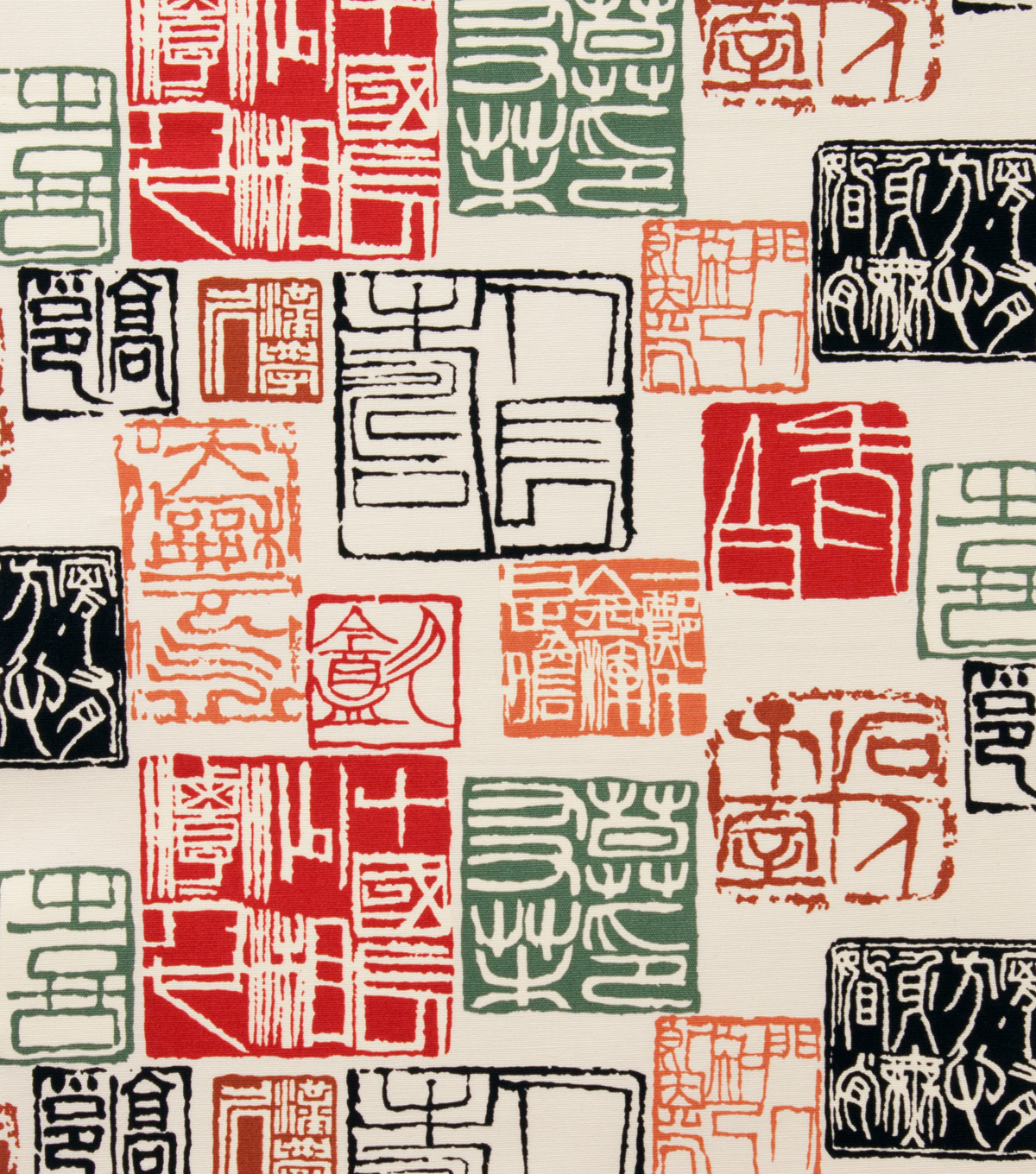 Alexander Henry Cotton Fabric 44\u0022-Shinto Red