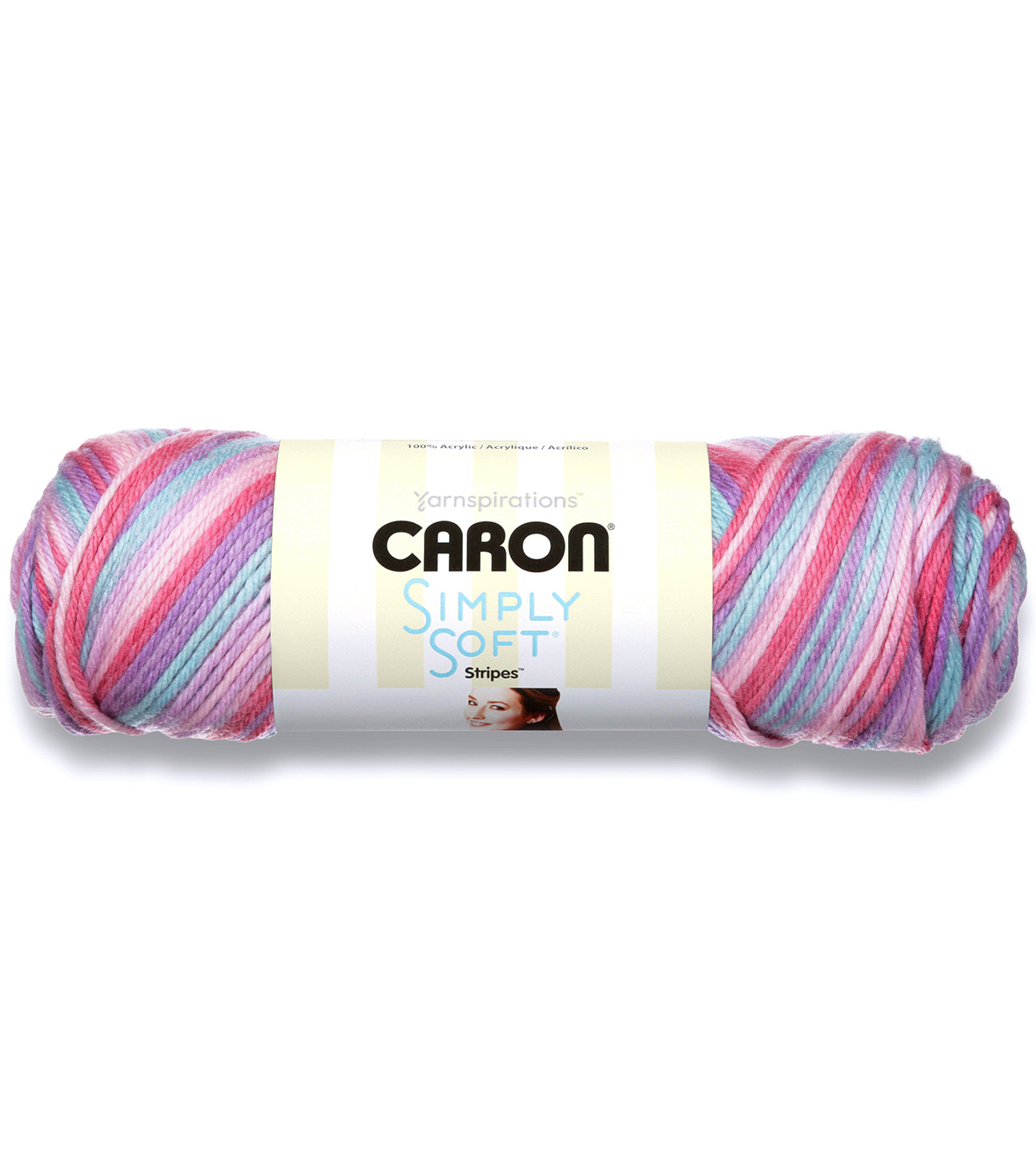Caron Simply Soft Stripes Yarn