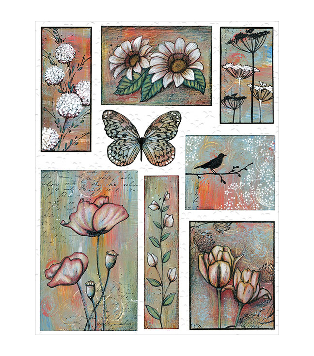 Penny Black Sticker Sheet-Promise Of Spring
