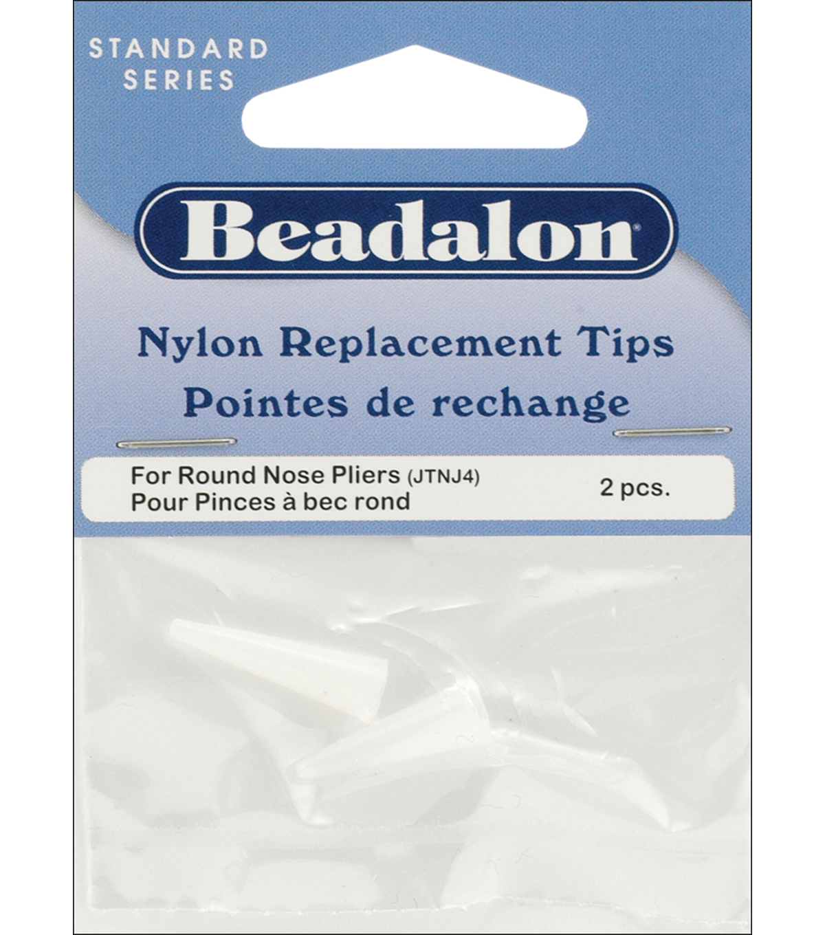 Nylon Round Nose Pliers Replacement Tips 2/Pkg-.75