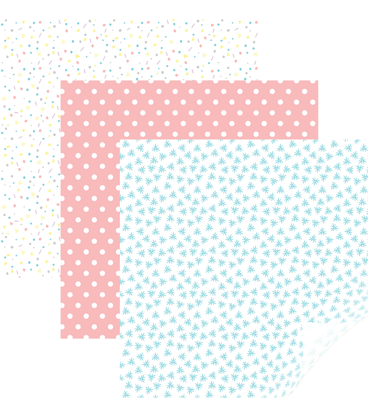 Cricut® Patterned Iron On Sampler-Party Time Pastels