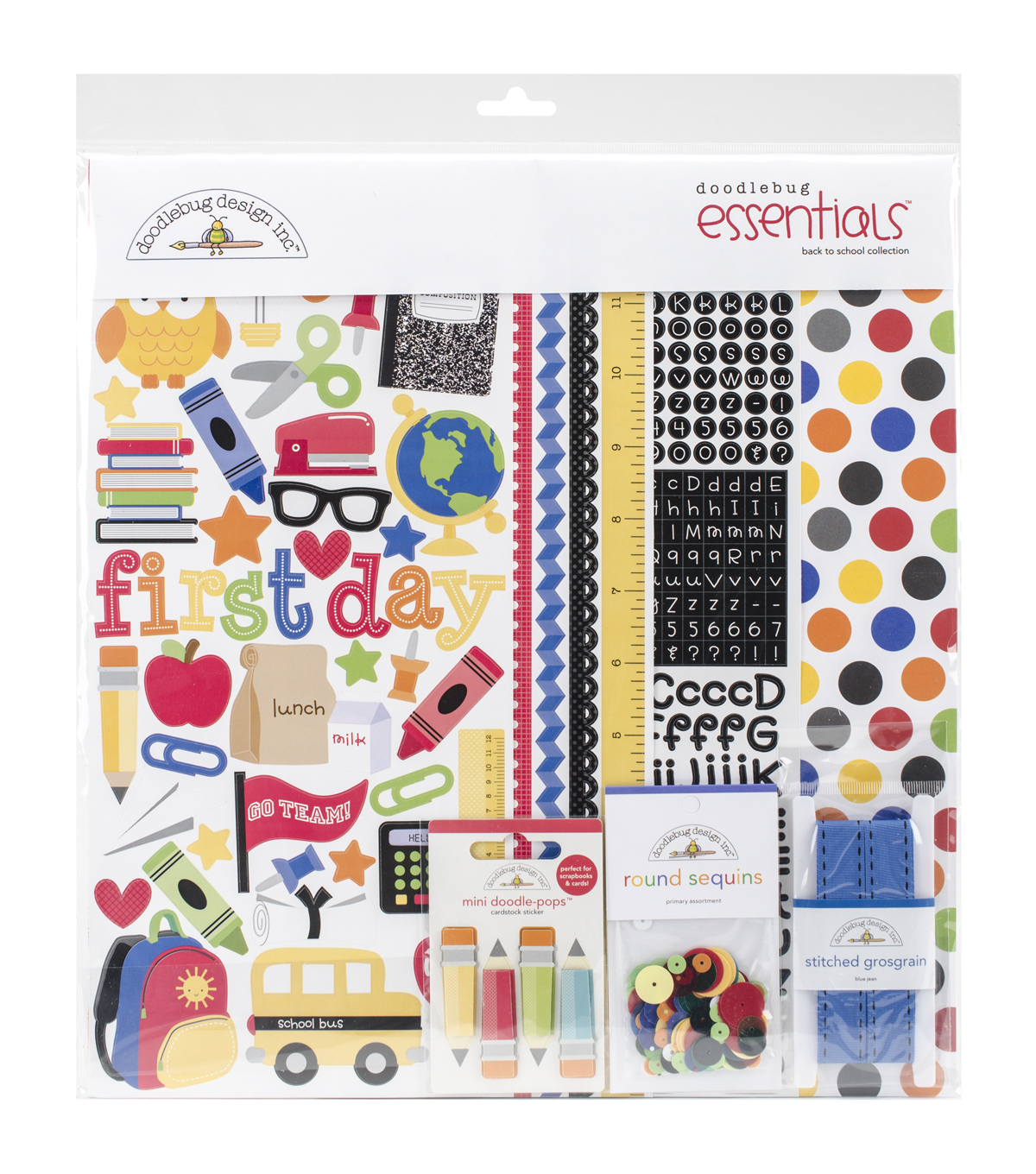 Bck 2 Schl-school Page Kit12x12