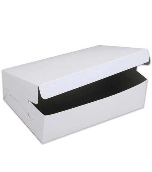 "Cake Box For Cakes Or 12 Cupcakes-10""X14""X4"""