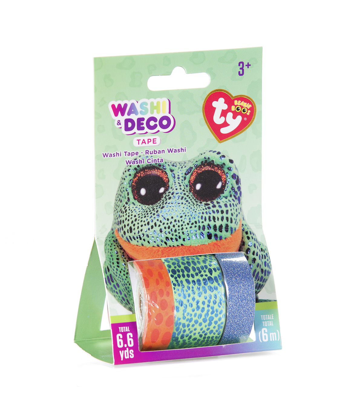 Ty Inc. Beanie Boos® 3 Pack Washi & Deco Tapes-Speckles™ Frog