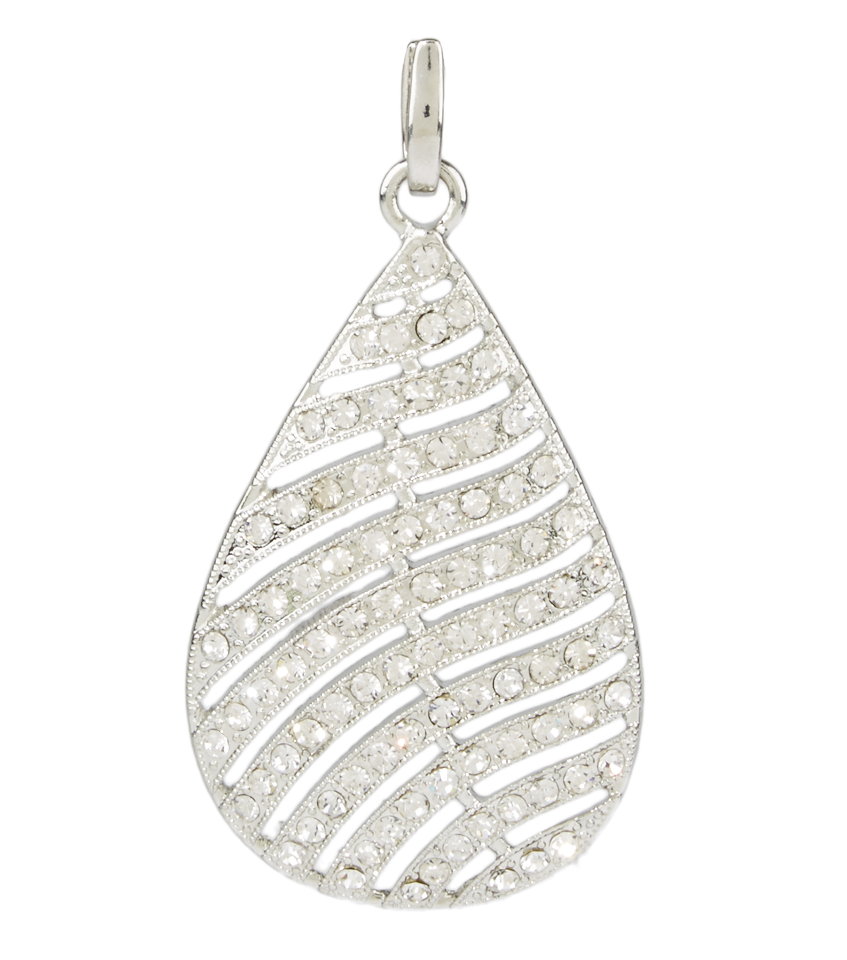 Feather Pendent Crystal