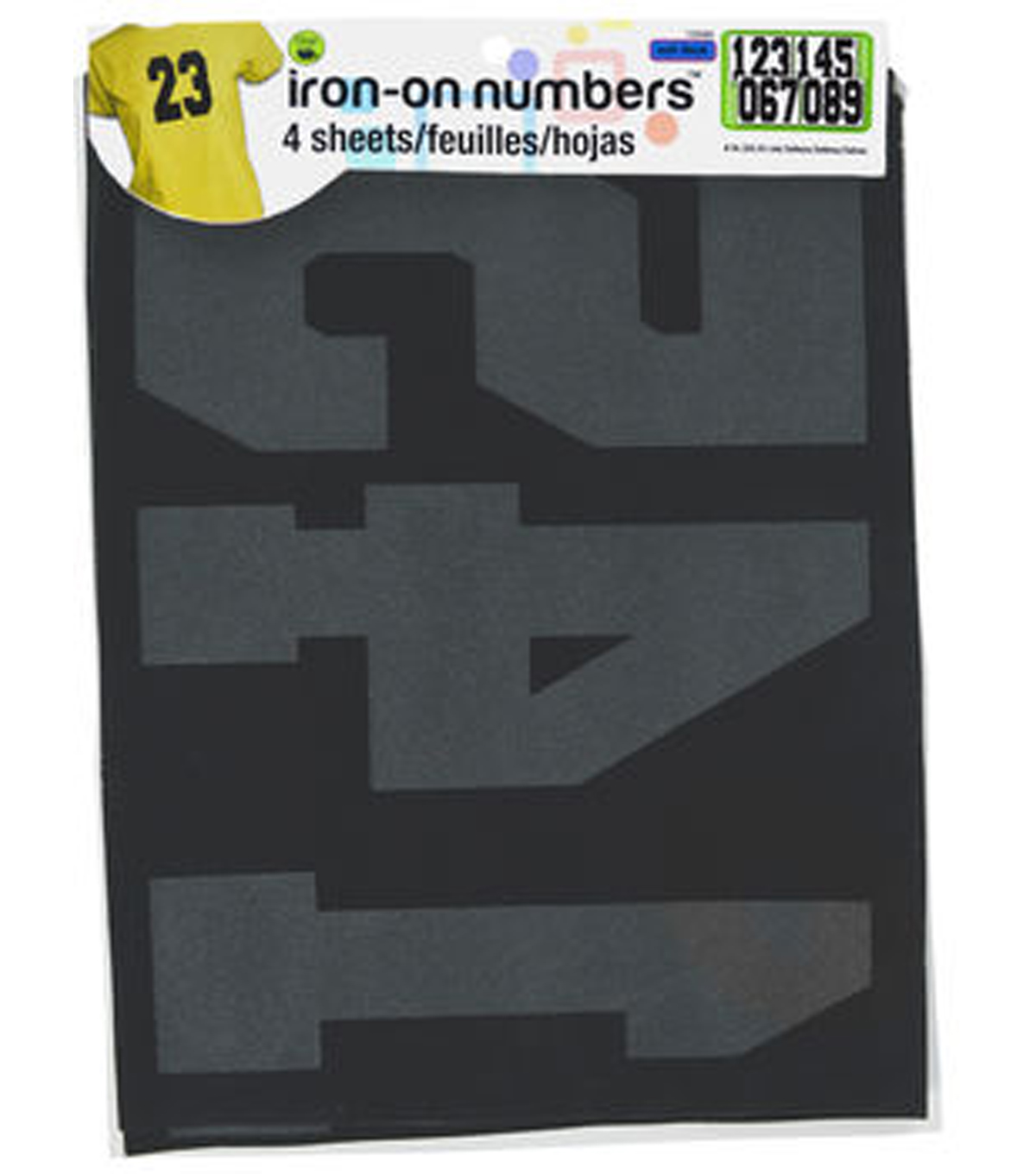 Dritz 8'' Iron-On Numbers Athletic