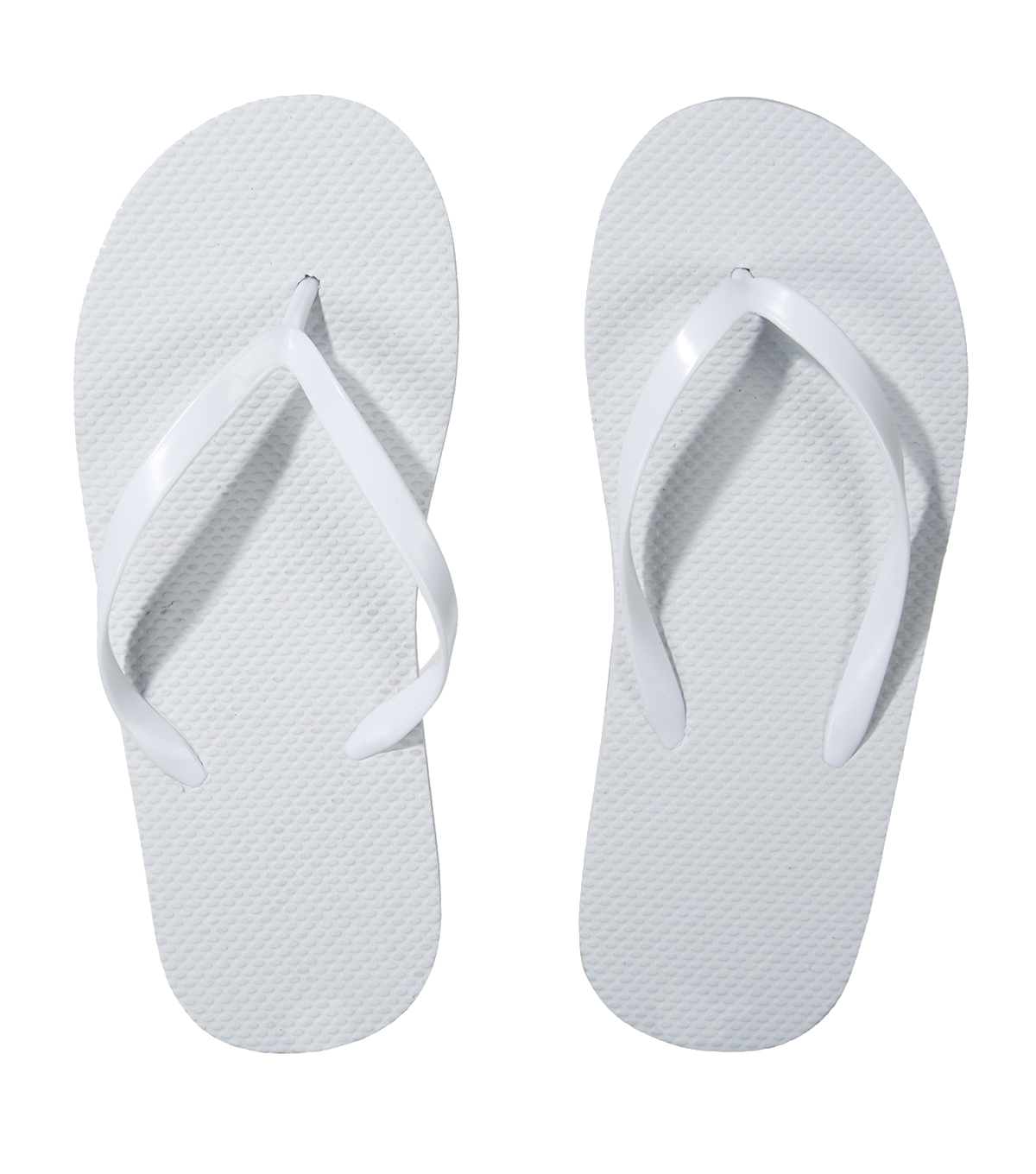 Little Makers™ Kids Flip Flops-White