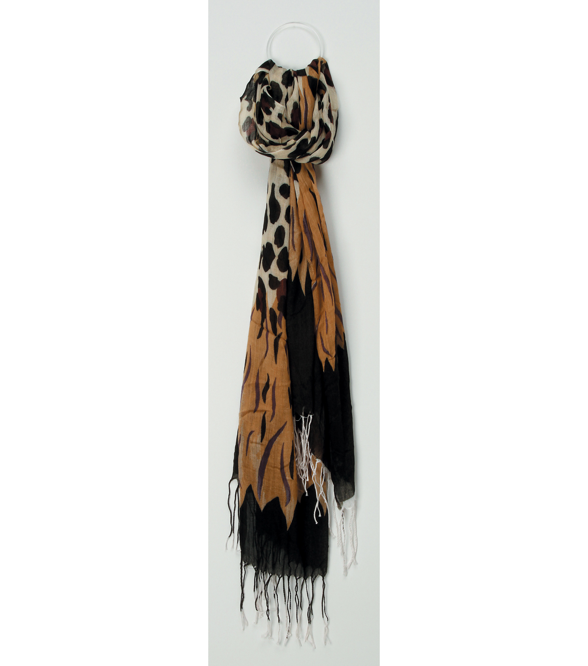 Oxford Street Jewelry Co. Animal Print Scarf
