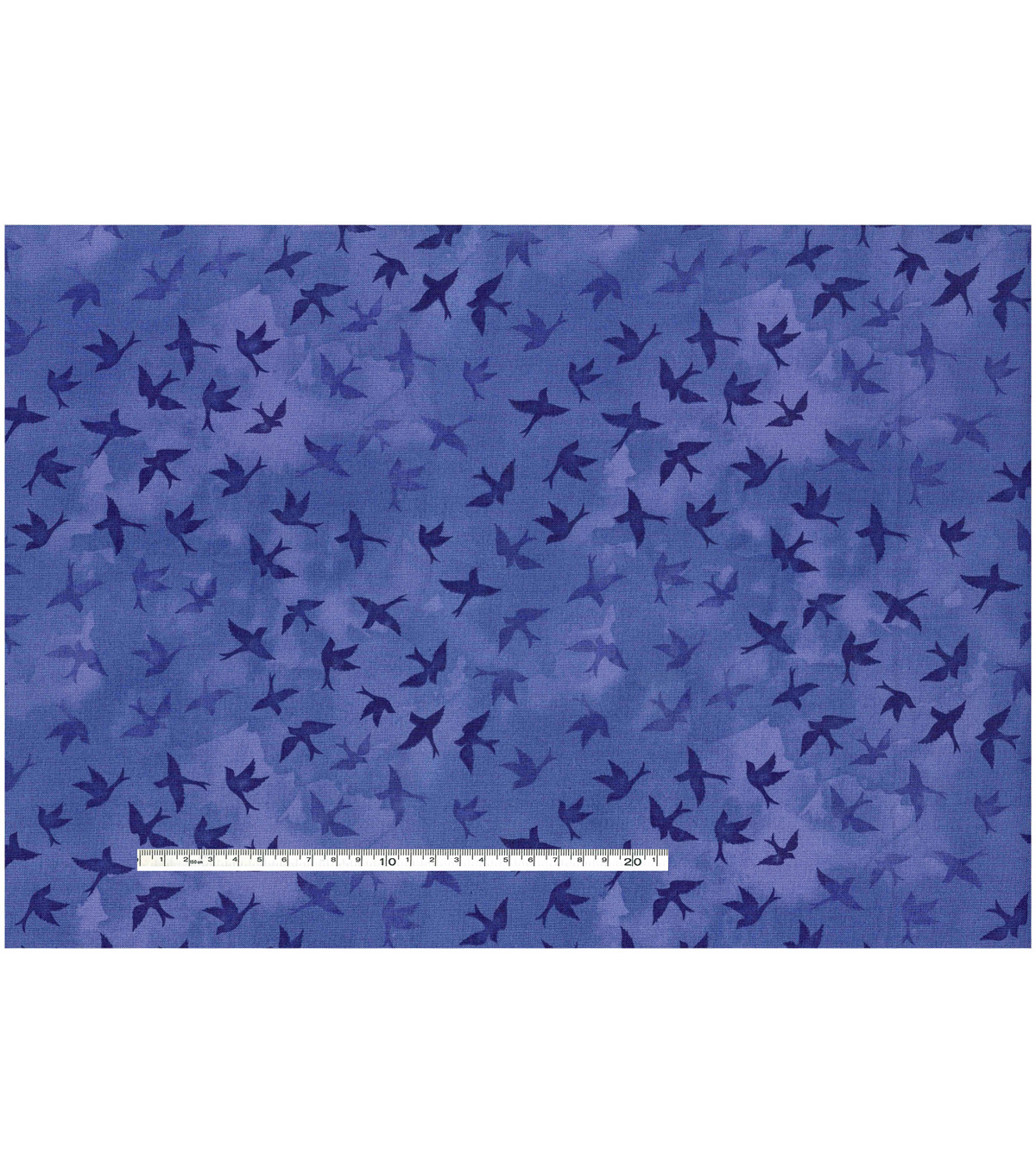 Keepsake Calico™ Cotton Fabric-Tonal Birds Blue