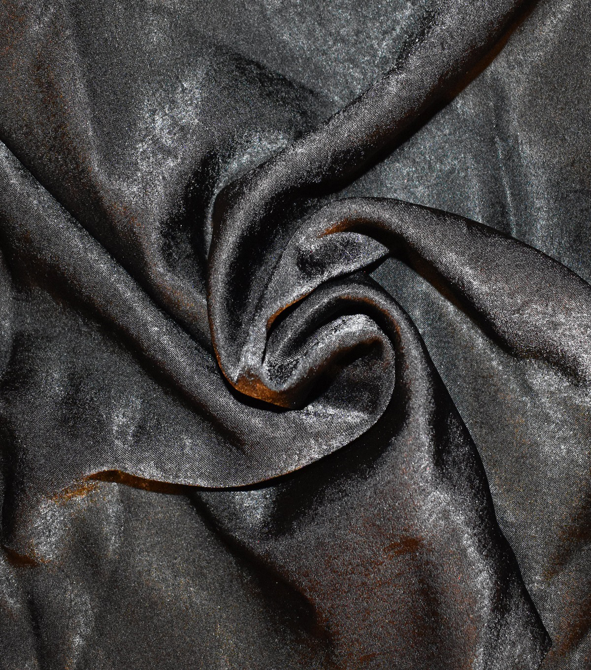 Silky Sanded Satin Fabric 58\u0022-Black