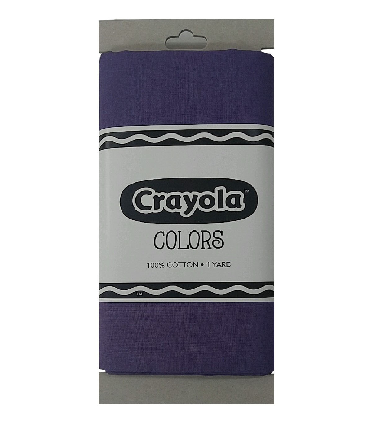 Riley Blake© Crayola® Fabric 1yd Cut-Purple Mountain