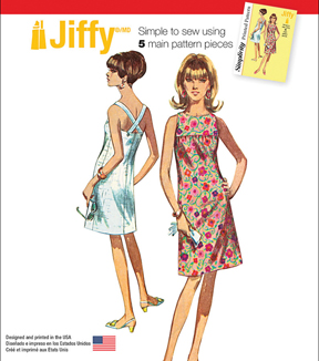 Simplicity Patterns Us1101R5-Simplicity Misses' Jiffy Dresses-14-16-18-20-22