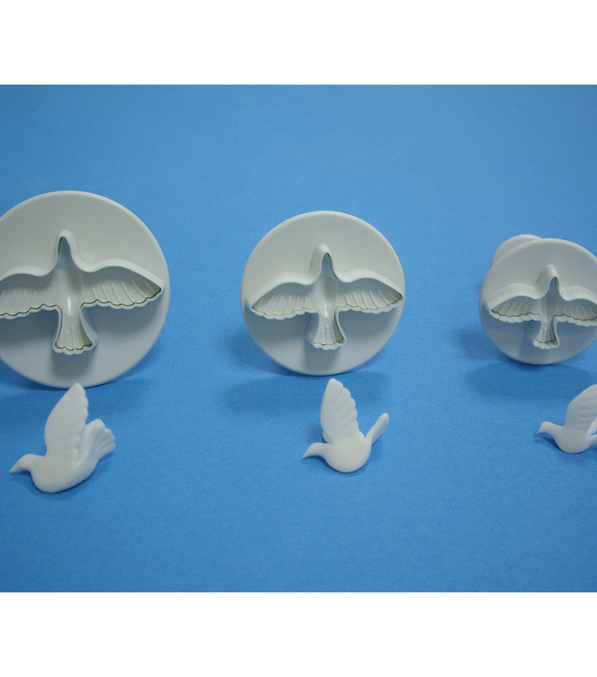 PME 3 Pack Plunger Cutters-Dove