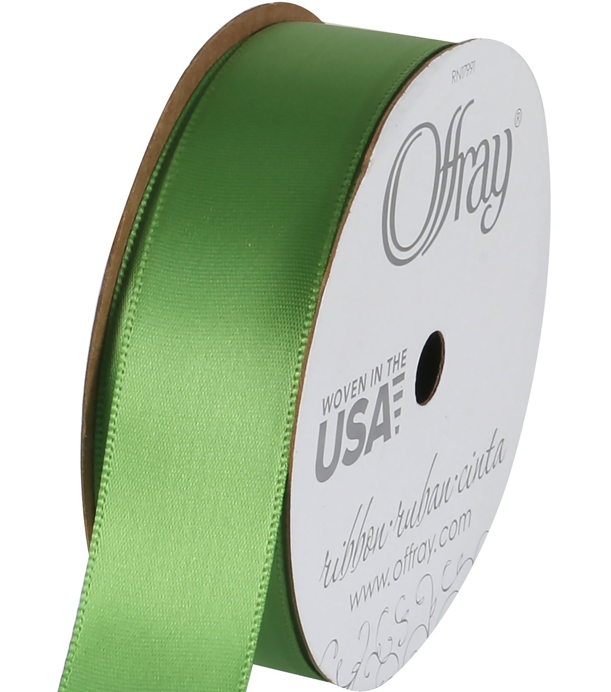 Offray 7/8\u0027\u0027x18\u0027 Single Satin Ribbon-1pk