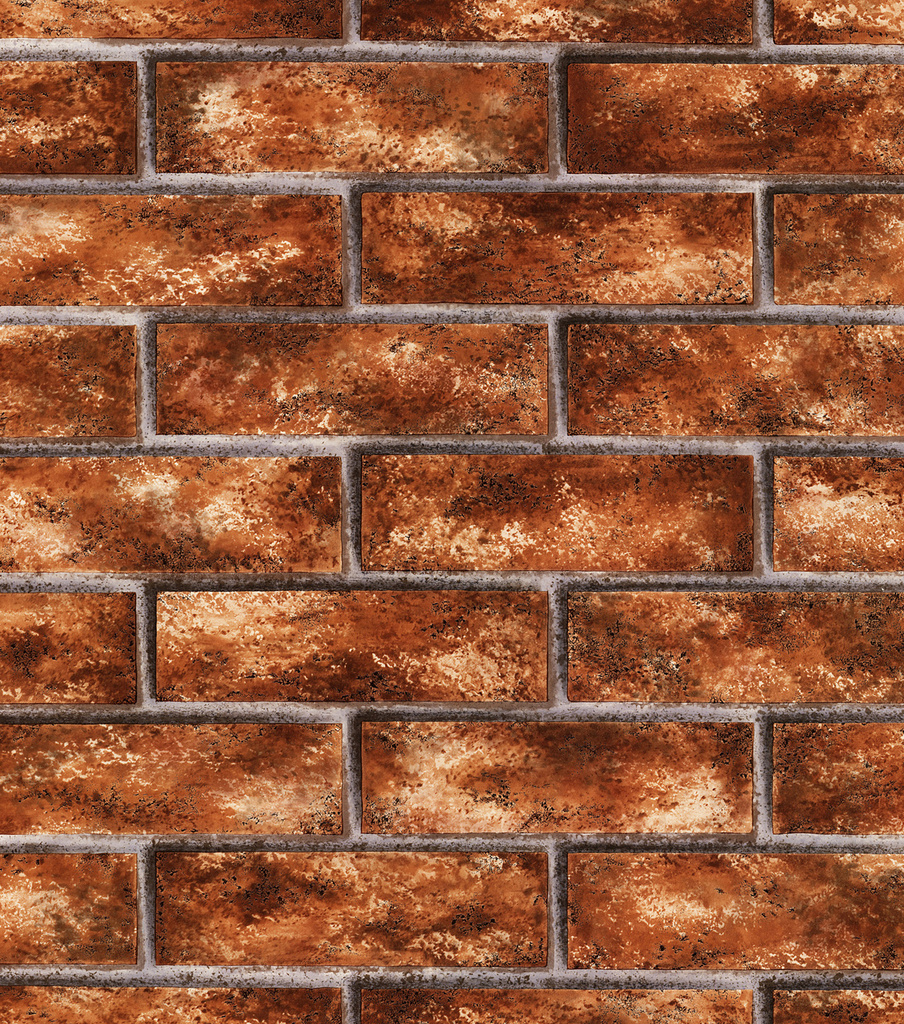 Red Brick Wallcovering