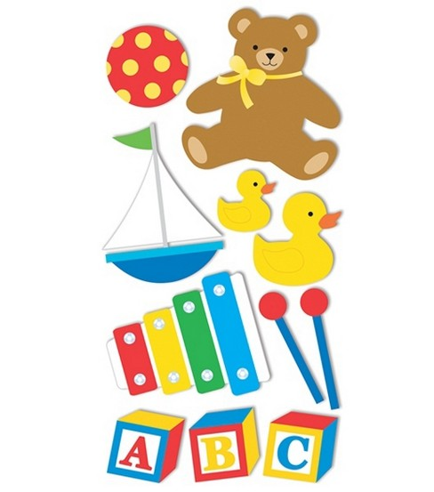 Dimensional Stickers-Baby Toys