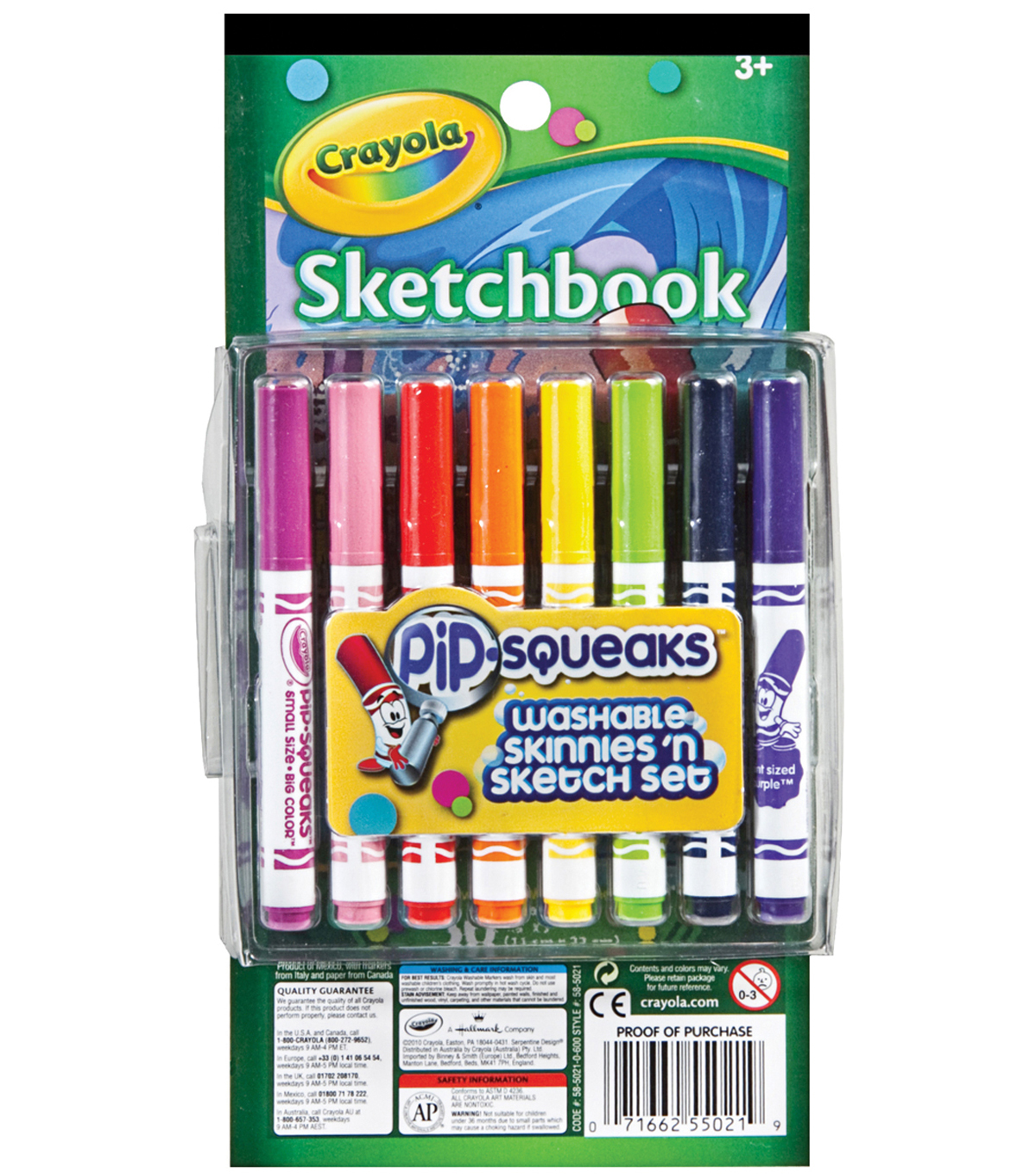 Crayola Pip-Squeaks Skinnies \u0027n Color Set