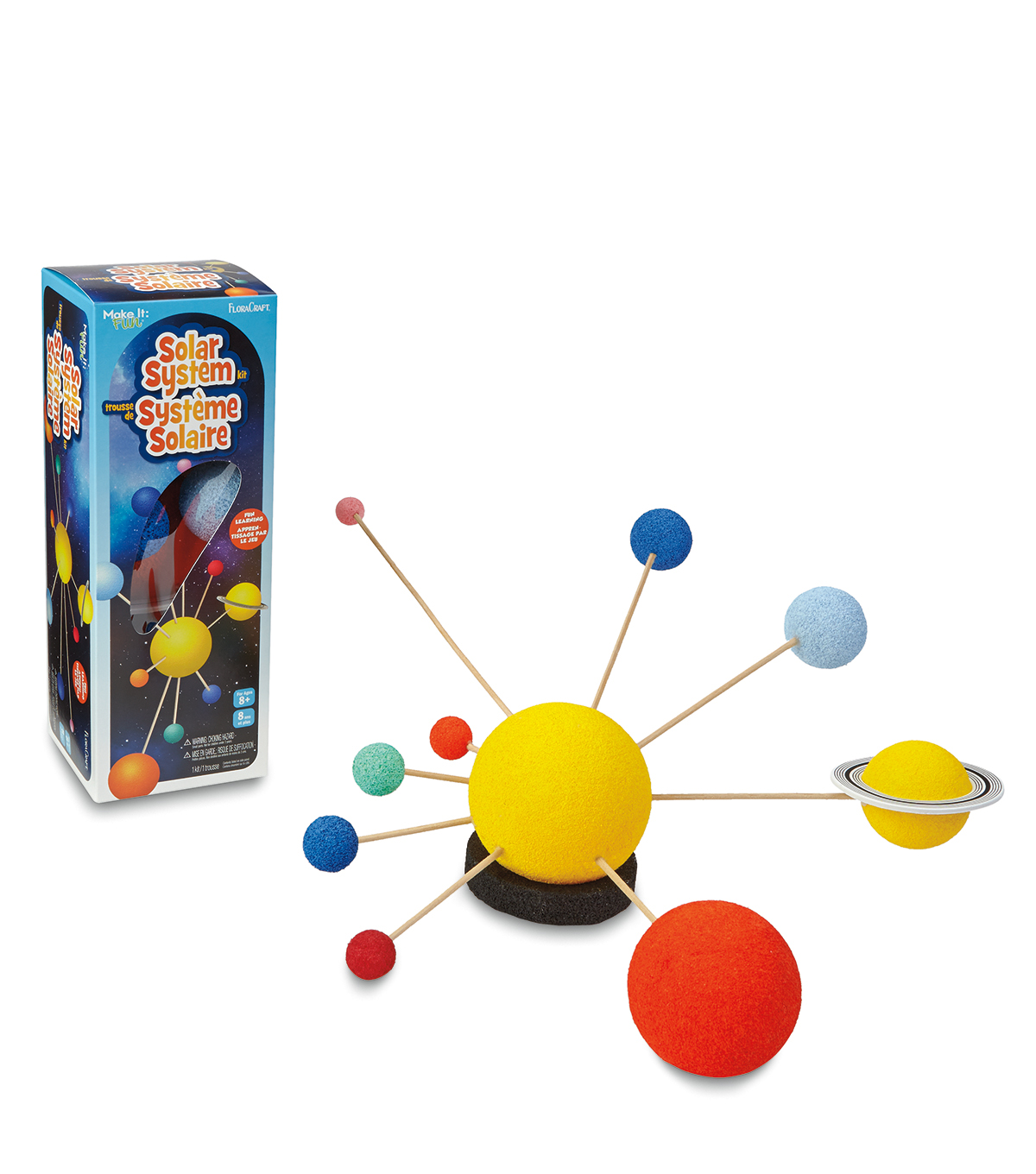 Painted Solar System Kit