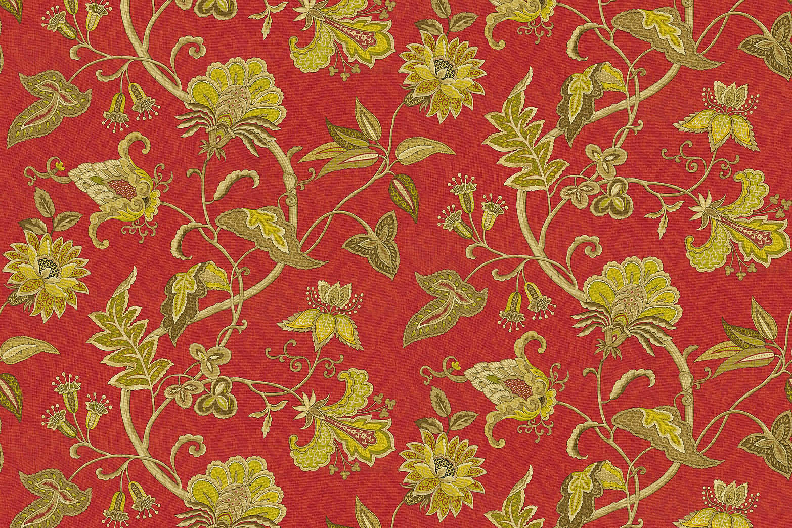 "Home Decor 8""x8"" Fabric Swatch-IMAN Home Deauville Dance Amaryllis"