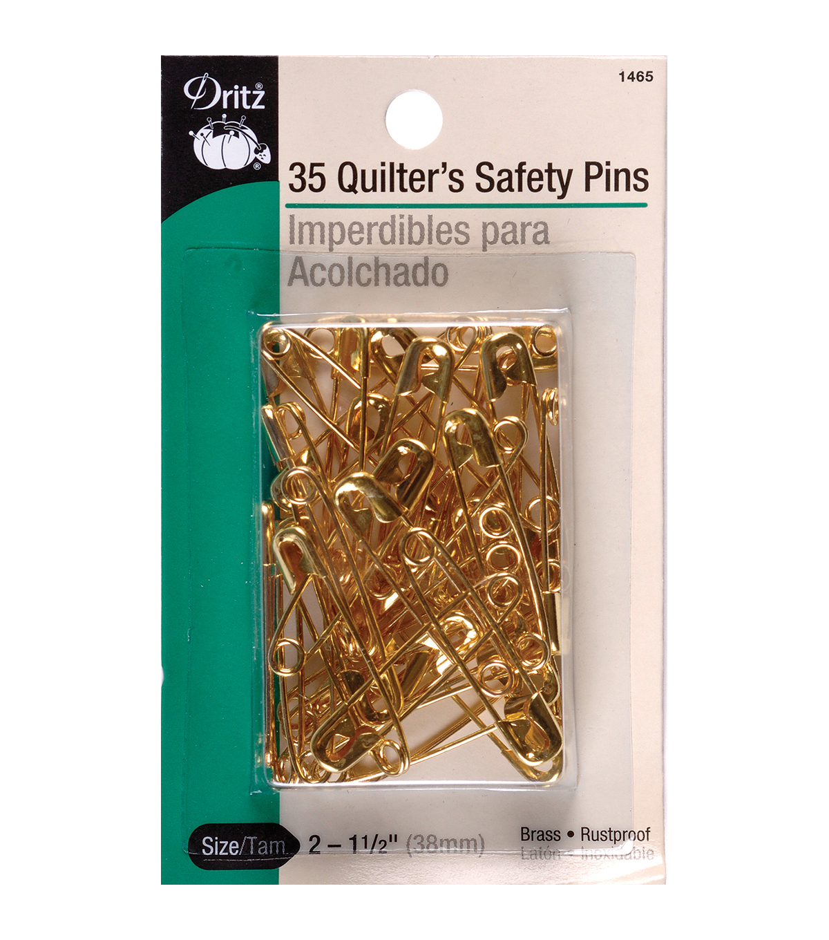 Dritz® 35pcs Size 2 Quilter\u0027s Safety Pins