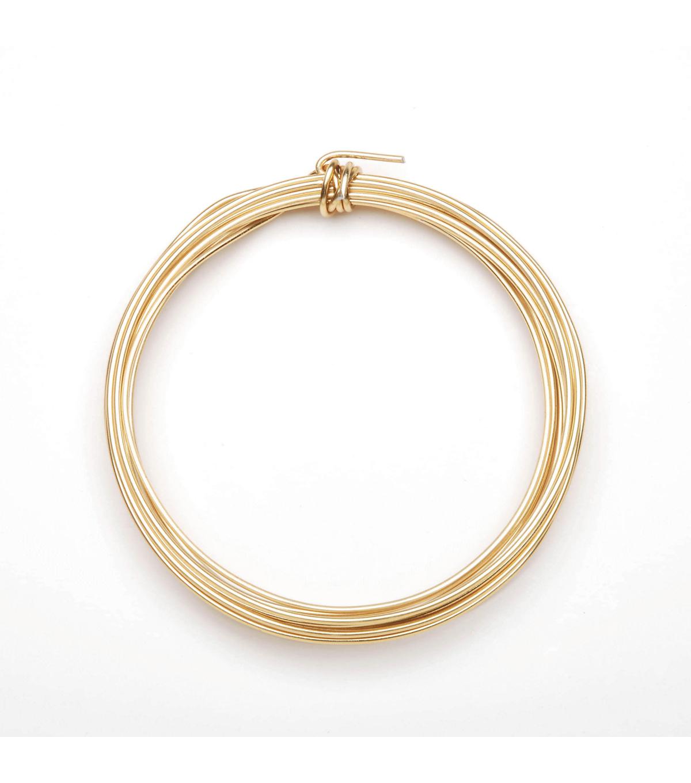 16 Gauge Aluminum Wire, Gold, 3yds. | JOANN