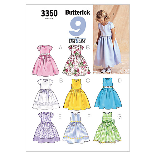 Butterick Child Special Occasion-B3350