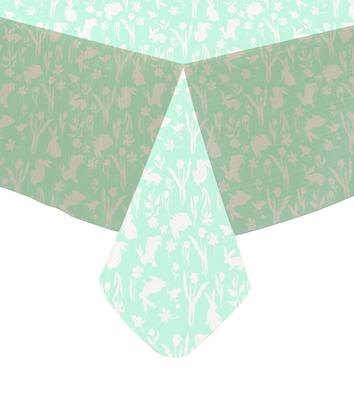 Easter 52\u0027\u0027x90\u0027\u0027 Tablecloth-Silhouette