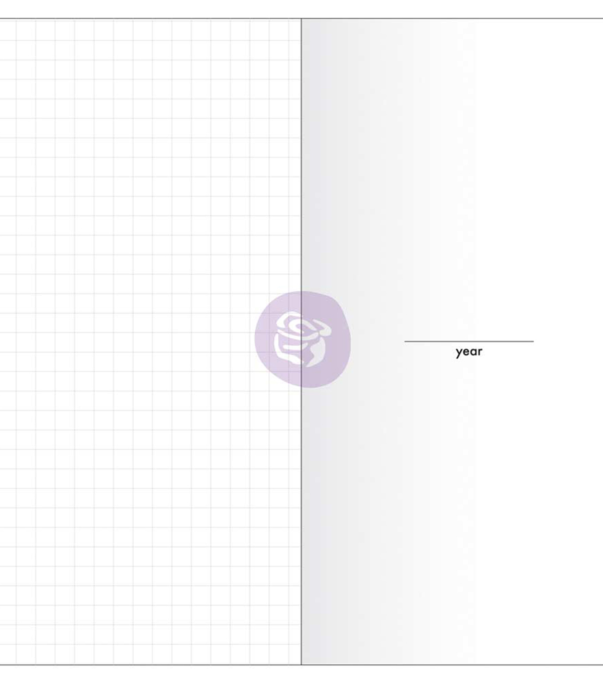 Prima Traveler\u0027s Journal Notebook Refill 32 Sheets-Daily w/White Paper