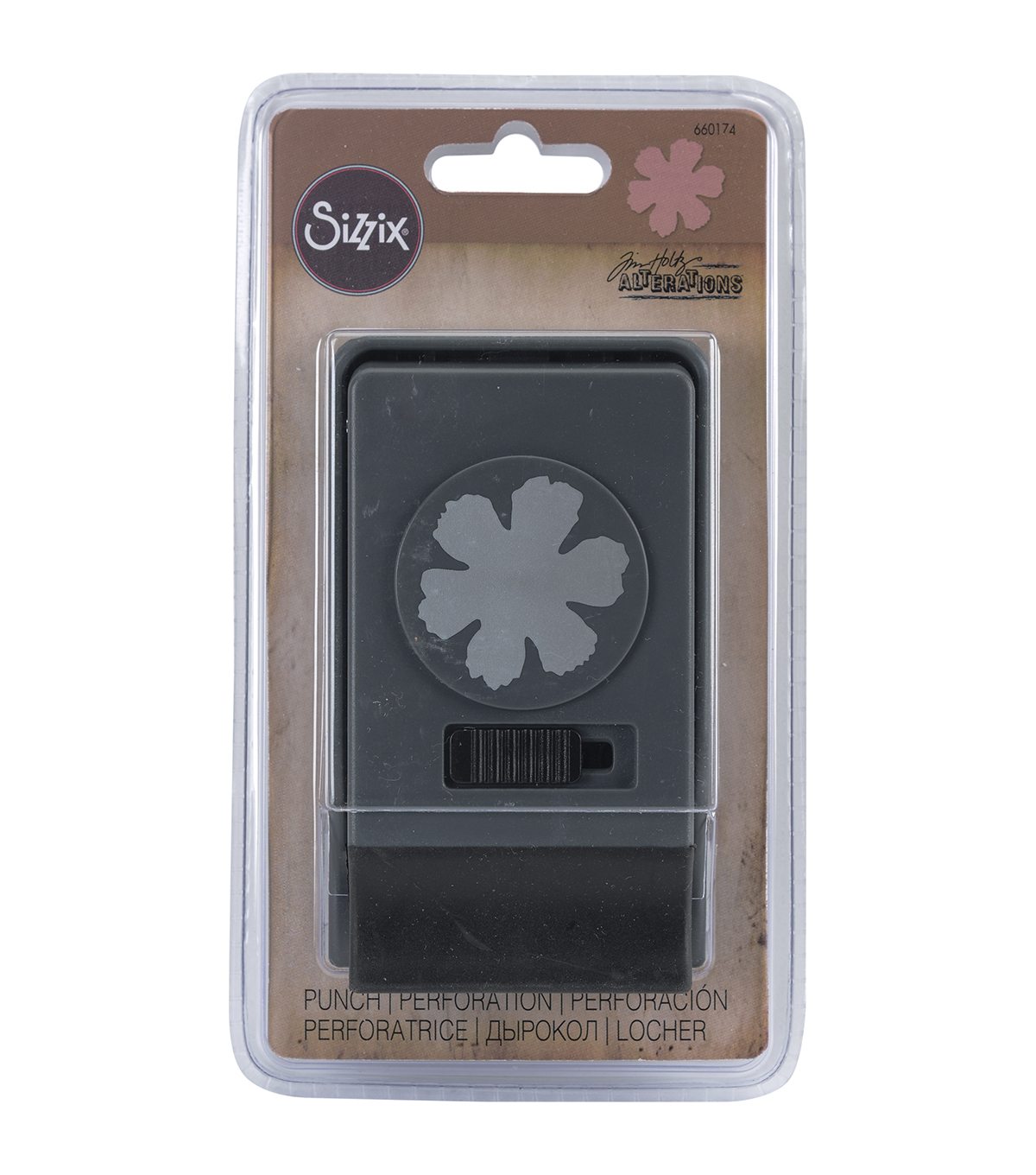 Sizzix® Tim Holtz® Large Paper Punch-Tattered Flower