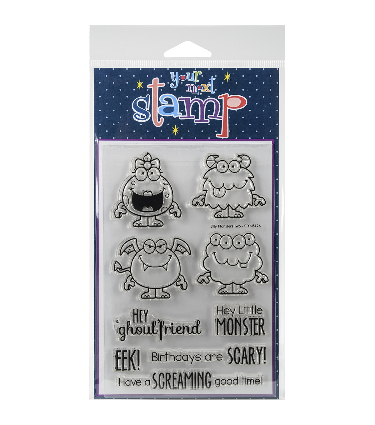 Your Next Stamp Clear Stamps-Silly Monsters Two