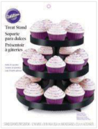 Wilton® Treat Stand 1/Pkg-Black W/Wraps